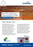 BRL1154 certificaat